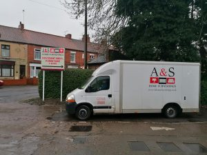 House Clearances A and S Home Furnishings Van