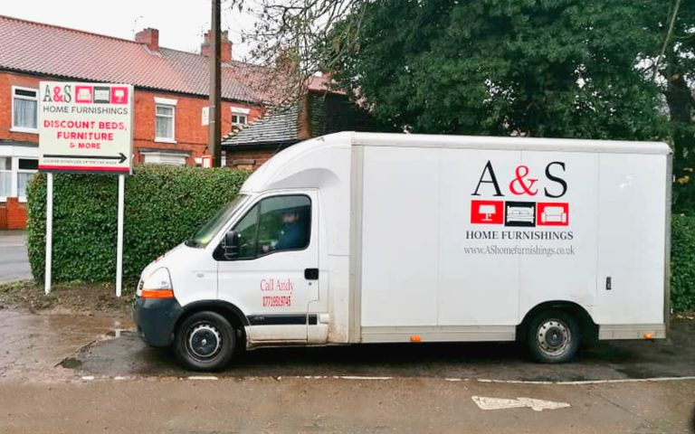 House Clearances A and S Home Furnishings branded Van